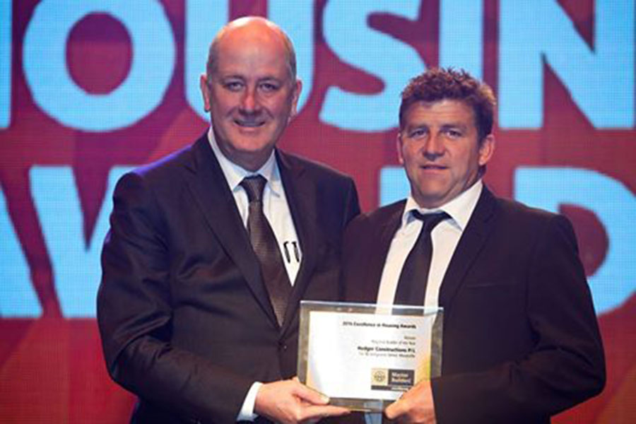 Hedger Constructions Regional Builder of the Year 2016