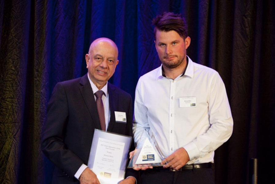 State Apprentice Award Winner