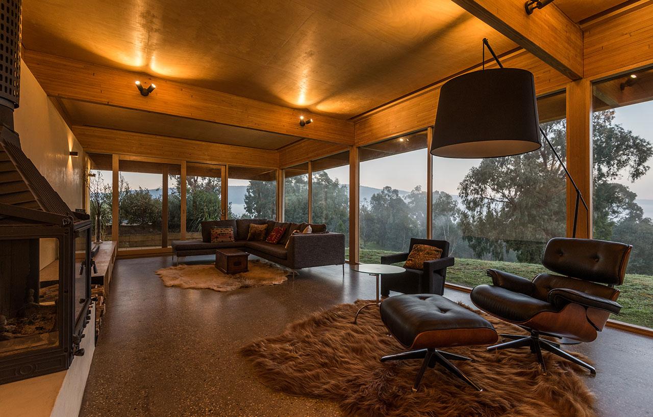 modern architect designed home