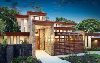 Frank Lloyd Wright Style Home