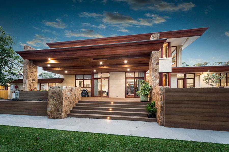 Natural Material Home