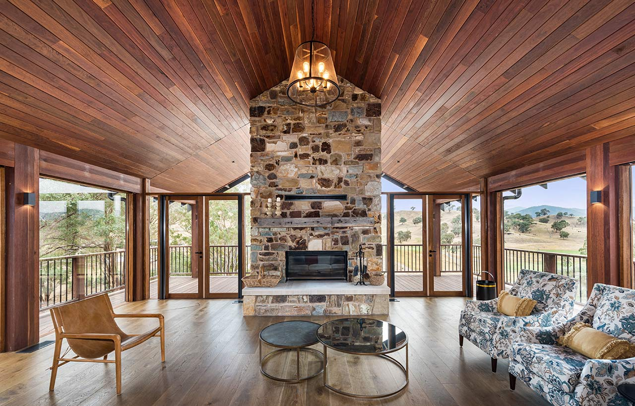 Zoned Living Cathedral Ceiling Custom Home